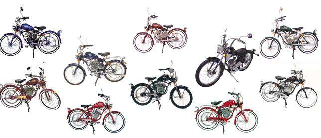 Brand new motorbikes